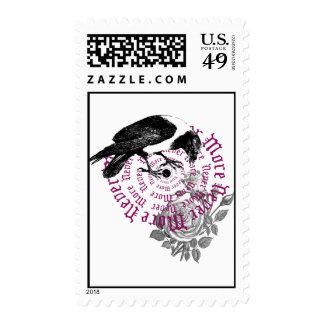 Cuervo y sellos color de rosa