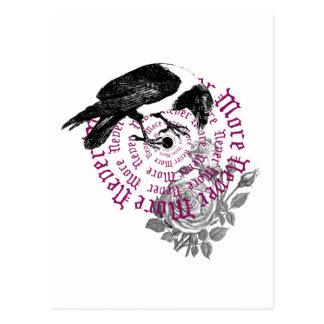 Cuervo y subió postales
