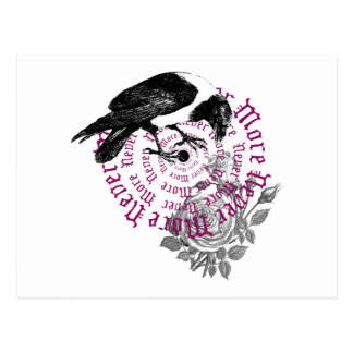 Cuervo y subió tarjeta postal