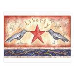 Cuervos de la libertad tarjetas postales
