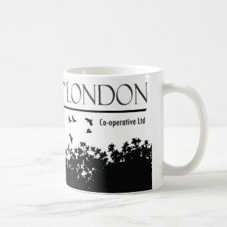 Cuervos de la taza del gallinero de Londres