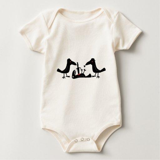cuervos del asesinato trajes de bebé