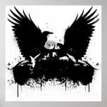 Cuervos entintados posters