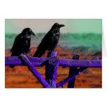 Cuervos Felicitación