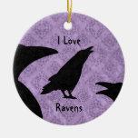 Cuervos góticos del amor de I Ornamentos Para Reyes Magos