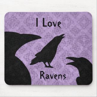 Cuervos góticos del amor de I Tapete De Raton
