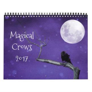 Cuervos mágicos 2017 calendario
