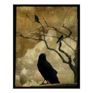 Cuervos Poster