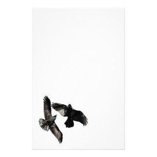 cuervos papelería de diseño