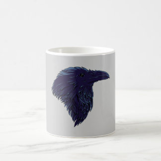 Cuervos raven taza de café