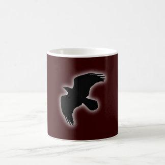 Cuervos raven tazas de café
