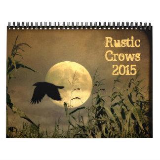 Cuervos rústicos 2015 calendario