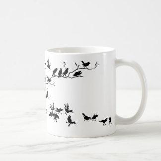 Cuervos Taza Básica Blanca
