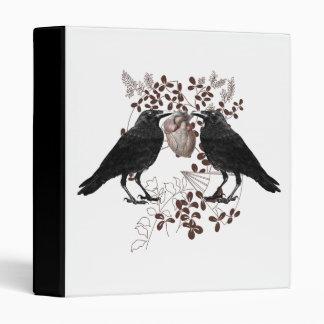 """Cuervos y corazón carpeta 1"""""""