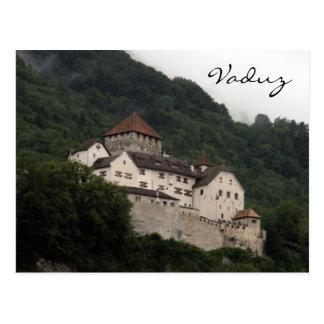 cuesta del castillo de Vaduz Postales