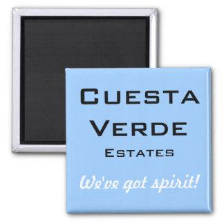 Cuesta Verde Estates 2 Inch Square Magnet