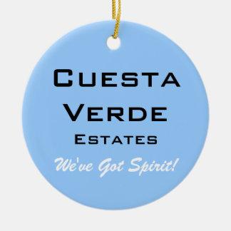 Cuesta Verde Estates Ceramic Ornament