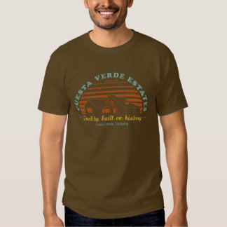 Cuesta Verde Estates - Phase One (distressed) T Shirt