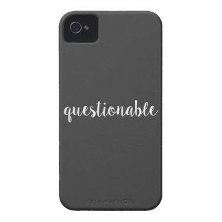 Cuestionable iPhone 4 Case-Mate Fundas