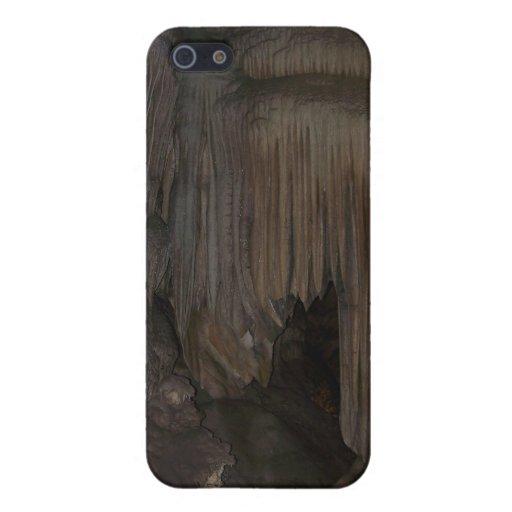 Cueva cristalina iPhone 5 carcasa