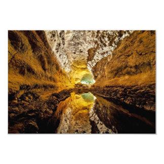 Cueva de España de las islas Canarias de Cueva de Invitación 8,9 X 12,7 Cm