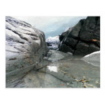 Cueva de hielo canadiense tarjeta postal