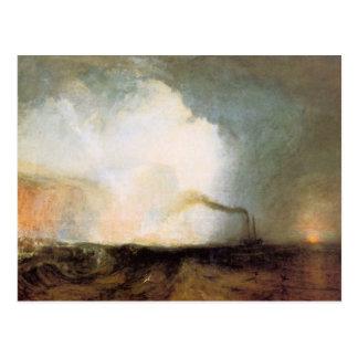 Cueva de José Mallord Turner - de Fingals Postales