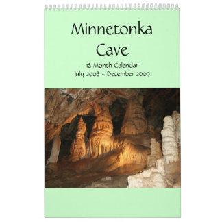 Cueva de Minnetonka calendario de 18 meses
