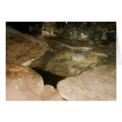 Cueva de New México Tarjeta De Felicitación