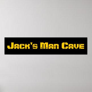 Cueva del hombre poster