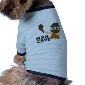 Cueva del hombre camisa de mascota
