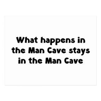 Cueva del hombre postal