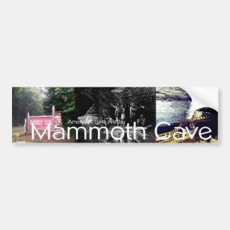 Cueva del mamut de ABH Pegatina Para Auto