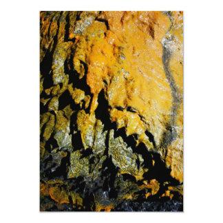 """Cueva del tubo de lava invitación 5"""" x 7"""""""