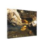 Cueva del tubo de lava lona estirada galerías