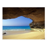 Cueva en la bahía francesa, isla de San Salvador, Tarjetas Postales