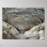 Cueva en roca impresiones