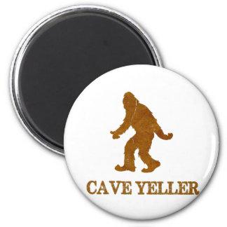 Cueva Yeller (Sasquatch) Imán Redondo 5 Cm