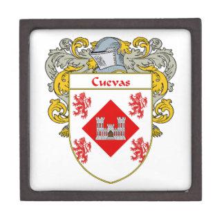 Cuevas Coat of Arms/Family Crest Jewelry Box