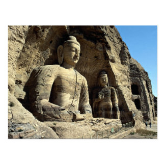 Cuevas de Yungang, provincia de Shanxi, China Postales