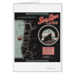 Cuevas del león marino, Florencia, Oregon Tarjeta