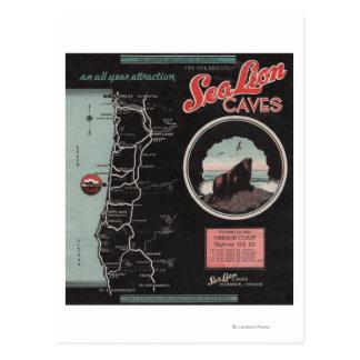 Cuevas del león marino, Florencia, Oregon Postal