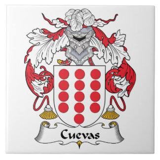 Cuevas Family Crest Tile