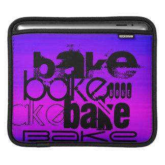Cueza; Azul violeta y magenta vibrantes Fundas Para iPads