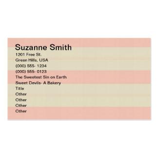 Cueza la tarjeta de Bizz del Shoppe Tarjetas De Visita