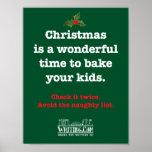 Cueza su poster de los niños