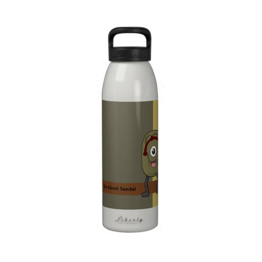 Cueza-zouri (sandalia del fantasma) botella de beber