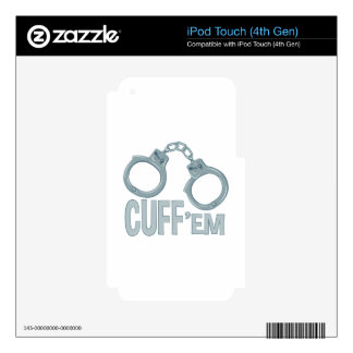 Cuff Em Skins For iPod Touch 4G