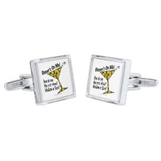 CUFF LINKS - MEDIUM or RARE MARTINI OLIVES?