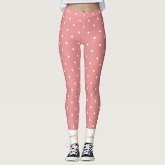 Cuffed_Peach_RIBBON_Anklet_XS-TO--XL_Leggings_ Leggings
